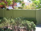 A Louvered style Fence, very nice