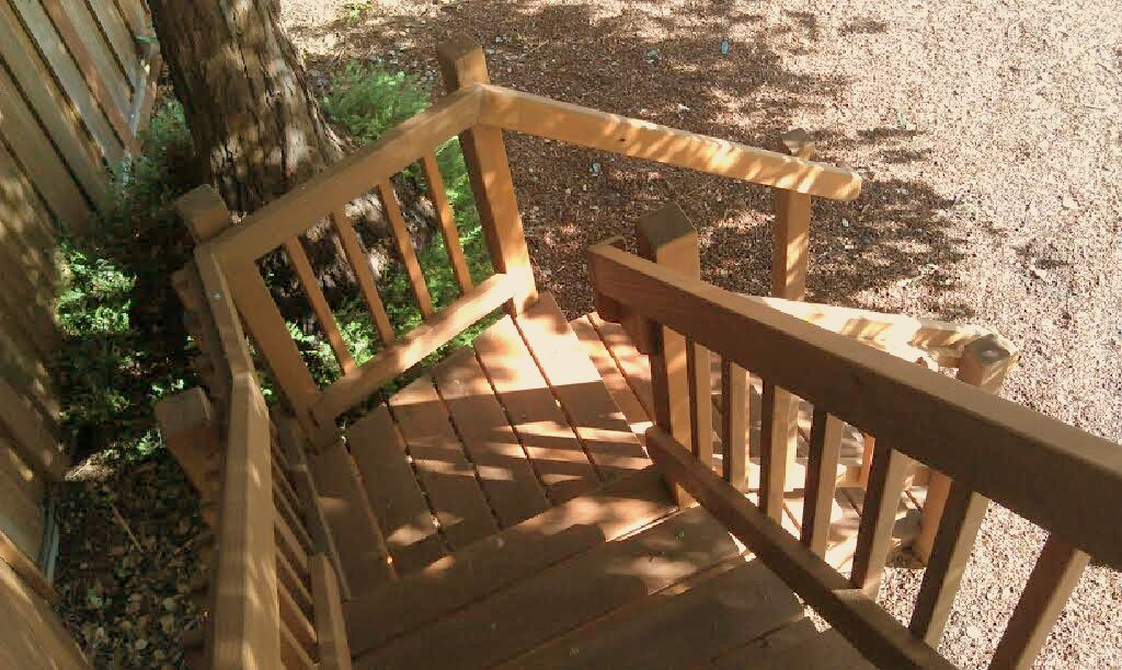 GREAT WORKMANSHIP ON STAIR RAIL BY BOB BALOGH